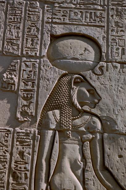 sekhmet hieroglyph